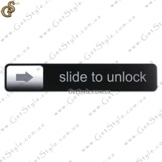 "Наклейка ""Slide to Unlock"""