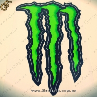 "Наклейка ""Monster Energy"" - Средний размер."