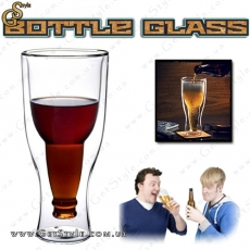 "Бокал с формой бутылки - ""Bottle Glass"""