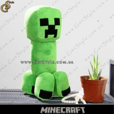 "Плюшевый Крипер из Minecraft - ""Creeper Toy"" - 27 см."