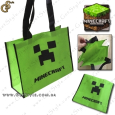 "Сумка Minecraft - ""Creeper Bag"""
