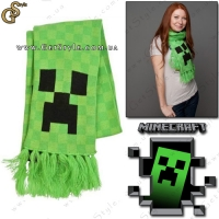 "Шарфик из Minecraft - ""Creeper Scarf"""