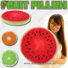 "Фруктовая подушка - ""Fruit Pillow"" - 32 см."