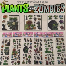 "Набор наклеек Plants vs Zombies  - ""Plants Set"" - 120 шт."