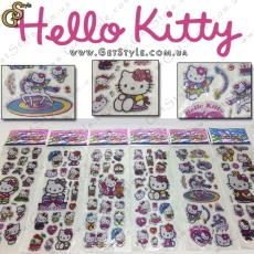 "Наклейки Hello Kitty - ""Kitty Set"" - 102 шт."