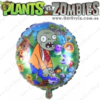 "Воздушный шар Plants vs Zombie - ""Plants Balloon"" - 1 шт."