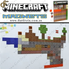 "Магниты Minecraft - ""Magnets Set"" - 160 шт."