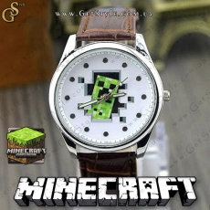 "Часы Minecraft - ""Minecraft Creeper"""