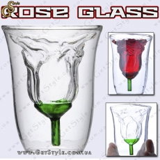 "Стакан с формой розы - ""Rose Glass"""