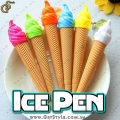 "Ручки-брелки в виде мороженого - ""Ice Pen"" - 4 шт."
