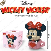 "Конструктор Минни Маус - ""Minnie Mouse"" - 557 деталей"